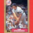 1987 Topps Baseball #788 Tim Stoddard - New York Yankees