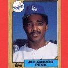 1987 Topps Baseball #787 Alejandro Pena - Los Angeles Dodgers