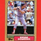 1987 Topps Baseball #782 Brian Downing - California Angels