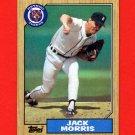 1987 Topps Baseball #778 Jack Morris - Detroit Tigers