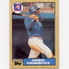 1987 Topps Baseball #777 Chris Chambliss - Atlanta Braves Ex