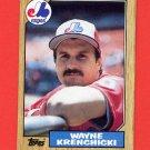 1987 Topps Baseball #774 Wayne Krenchicki - Montreal Expos NM-M
