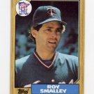 1987 Topps Baseball #744 Roy Smalley - Minnesota Twins