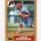 1987 Topps Baseball #736 Steve Bedrosian - Philadelphia Phillies