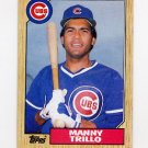 1987 Topps Baseball #732 Manny Trillo - Chicago Cubs