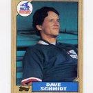 1987 Topps Baseball #703 Dave Schmidt - Chicago White Sox