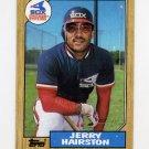 1987 Topps Baseball #685 Jerry Hairston - Chicago White Sox