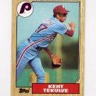 1987 Topps Baseball #684 Kent Tekulve - Philadelphia Phillies