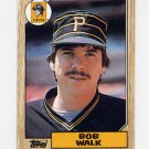 1987 Topps Baseball #628 Bob Walk - Pittsburgh Pirates