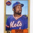 1987 Topps Baseball #625 Mookie Wilson - New York Mets