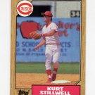 1987 Topps Baseball #623 Kurt Stillwell - Cincinnati Reds