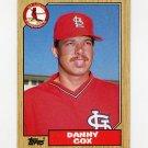 1987 Topps Baseball #621 Danny Cox - St. Louis Cardinals