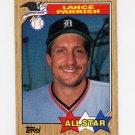 1987 Topps Baseball #613 Lance Parrish AS - Detroit Tigers