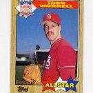 1987 Topps Baseball #605 Todd Worrell AS - St. Louis Cardinals