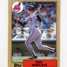 1987 Topps Baseball #575 Pat Tabler - Cleveland Indians