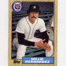 1987 Topps Baseball #515 Willie Hernandez - Detroit Tigers Ex
