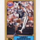 1987 Topps Baseball #503 Larry Andersen - Houston Astros