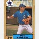 1987 Topps Baseball #498 Bob Kearney - Seattle Mariners