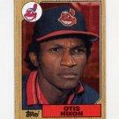 1987 Topps Baseball #486 Otis Nixon - Cleveland Indians