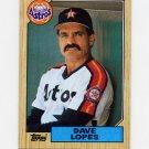 1987 Topps Baseball #445 Dave Lopes - Houston Astros Ex