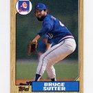 1987 Topps Baseball #435 Bruce Sutter - Atlanta Braves