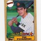 1987 Topps Baseball #429 Tim Pyznarski - San Diego Padres