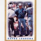 1987 Topps Baseball #381 The Montreal Expos Team Leaders