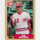 1987 Topps Baseball #358 Sal Butera - Cincinnati Reds Ex