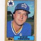 1987 Topps Baseball #357 Steve Fireovid - Seattle Mariners
