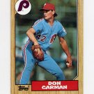 1987 Topps Baseball #355 Don Carman - Philadelphia Phillies