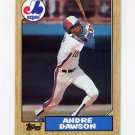 1987 Topps Baseball #345 Andre Dawson - Montreal Expos