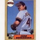 1987 Topps Baseball #303 Juan Berenguer - San Francisco Giants