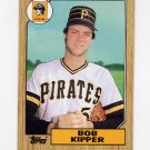 1987 Topps Baseball #289 Bob Kipper - Pittsburgh Pirates