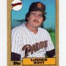 1987 Topps Baseball #275 LaMarr Hoyt - San Diego Padres