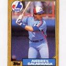 1987 Topps Baseball #272 Andres Galarraga - Montreal Expos