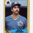 1987 Topps Baseball #271 Mike G. Brown - Seattle Mariners