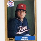 1987 Topps Baseball #247 Jeff Reed - Minnesota Twins