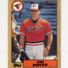 1987 Topps Baseball #246 Jim Dwyer - Baltimore Orioles