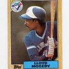 1987 Topps Baseball #210 Lloyd Moseby - Toronto Blue Jays