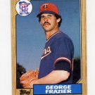 1987 Topps Baseball #207 George Frazier - Minnesota Twins