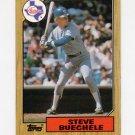 1987 Topps Baseball #176 Steve Buechele - Texas Rangers NM-M