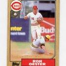 1987 Topps Baseball #172 Ron Oester - Cincinnati Reds