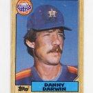 1987 Topps Baseball #157 Danny Darwin - Houston Astros NM-M