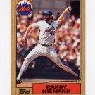 1987 Topps Baseball #147 Randy Niemann - New York Mets