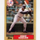 1987 Topps Baseball #135 Mike Easler - New York Yankees