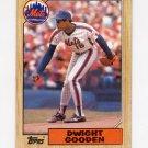 1987 Topps Baseball #130 Dwight Gooden - New York Mets