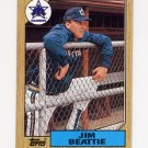 1987 Topps Baseball #117 Jim Beattie - Seattle Mariners