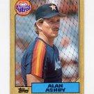 1987 Topps Baseball #112 Alan Ashby - Houston Astros