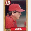 1987 Topps Baseball #110 John Tudor - St. Louis Cardinals