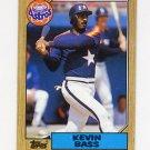 1987 Topps Baseball #085 Kevin Bass - Houston Astros